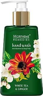Morpheme Remedies Hand Wash White Tea & Ginger, Anti Bacterial, 250ml - Soap Free Handwash