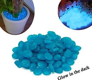 Pack de 200 piedras decorativas luminosas que brillan en la