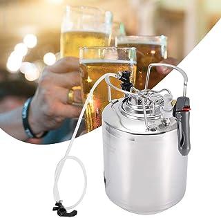 Kit de distributeur de système de fût de bière, acier inoxydable sous pression mini-brassage de bière Kit de vinification ...