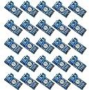 Rasbee 25個 電圧検出モジュール 標準電圧センサーモジュール DC 0〜25V テスト 電気部品 並行輸入品