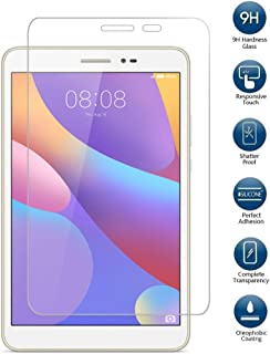 PauTion Huawei Mediapad T2 8.0 Pro フィルム Huawei T2 8.0 Pro 強化ガラスフィルム 国産ガラス素材 表面硬度9H 高透過率 気泡防止 (T2 8.0 Pro, フィルム)