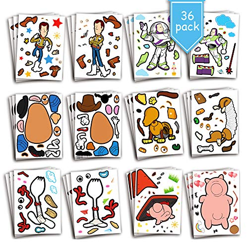 Cartoon Sticker for Kids Birthday P…