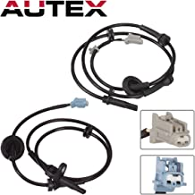 AUTEX 2PCS ABS Wheel Speed Sensor Front Left & Right ALS286 ALS290 47911-CA000 47910-CA000 compatible with Nissan Murano 2004 2005 2006 2007 2008 3.5L/Replacement for Nissan Murano 04 05 06-08 3.5L