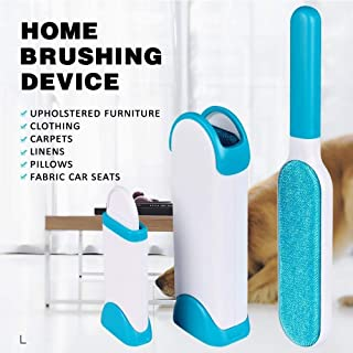 Dhanim Pet Fur and Lint Remover Pet Hair Remover Multi-Purpose Double Sided Self-Cleaning and Reusable Pet Fur Remover Mag...