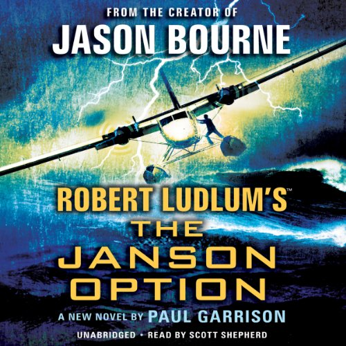 Robert Ludlum's The Janson Option audiobook cover art