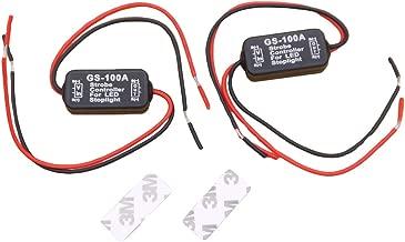 WINOMO 2pcs Flash Strobe Controller Car Flasher Module for Brake Light Tail Stop Light