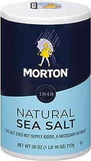 Morton Sea Salt, Natural All-Purpose, 26 Ounce