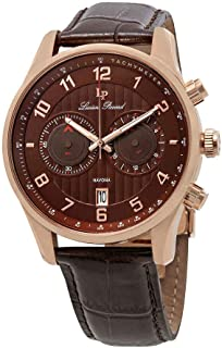 Navona GMT Chronograph Men's Watch 11187-RG-04-BRW