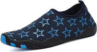 Kids Barefoot Water Skin Shoes Lightweight Aqua Socks for Beach Pool Swim Surf Yoga Exercise