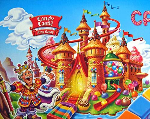 Jigsaw Puzzle Puzzle 1000 Piezas 50x75cm Castillo de Caramelo Colorido Rompecabezas para Niños para Adultos Grande Educativo El Alivio del Estrés Juguete Relajante Juego para Adultos Niños