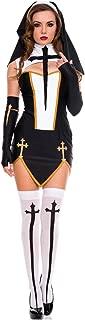 Music Legs Bad Habit Nun Costume - XL