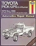 Toyota Pickup 1979 to 1992