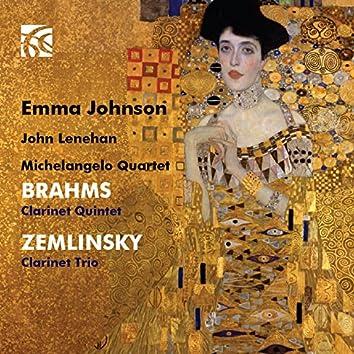 Brahms: Clarinet Quintet - Zemlinsky: Clarinet Trio