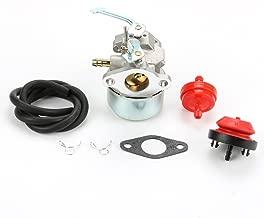 Powtol Mckin Carburetor for Tecumseh 640086 640086A 632641 632552 3HP 2 Cycle Engine Carb Gasket