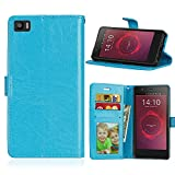 YYhin pour Coque BQ Aquaris M5(5.0'),Etui en Cuir pour téléphone Portable, Etui à Rabat en Cuir...