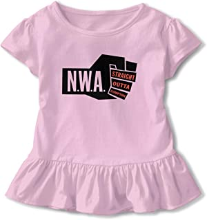 TIANBA Customized Tops Tee NWA Straight Outta Compton Cool Underdress T Shirts for Girl