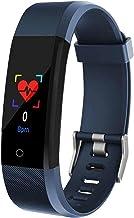 slimme armbandBloeddruk Fitness Smart Horloges Mannen Hartslagmeter Waterdichte Smart Polsband (Kleur: Paars) -Blauw