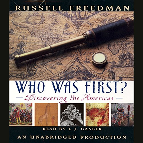 Who Was First? audiobook cover art