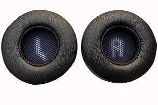Siwetg 1 par de almohadillas de espuma de repuesto para auriculares JBL Tune600 T500BT T450 T450BT JR300BT de 70 mm de almohadillas JBL Tune600BTNC T500BT T450BT