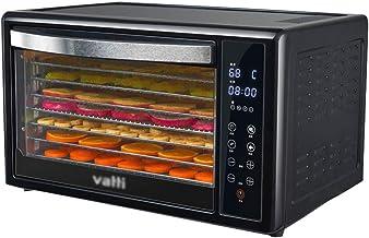 Máquina de conservación de alimentos para el hogar Secador de frutas, cuerpo de metal Temperatura ajustable 38-78 ° C Secador inteligente para frutas y verduras frescas y secas Rejilla de 8 capas para