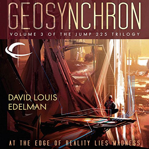Geosynchron audiobook cover art