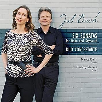 Six Sonatas for Violin and Keyboard, BWV 1014–1019