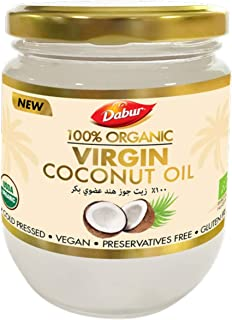 Dabur Organic Virgin Coconut Oil, 500 ml