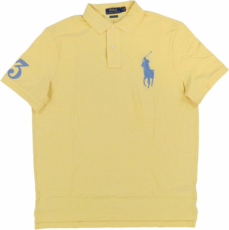 Polo Ralph Lauren Men's Classic Fit Big Pony Logo Polo Shirt