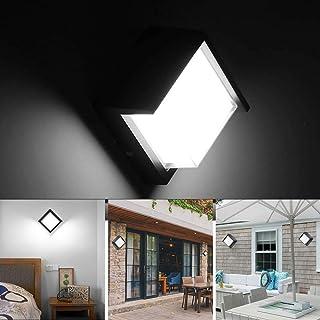 Huahan Haituo zewnętrzny kinkiet ścienny 10 W lampy LED wodoodporne wewnętrzne nowoczesne niskoprofilowe oprawy oświetleni...