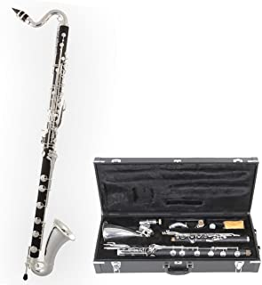 Tuyama® TBK-178 Clarinete Bajo (Sistema Boehm) - Baja hasta Do grave - low C Bass Clarinet