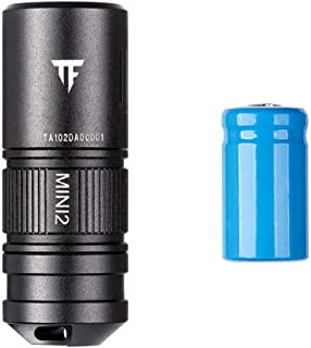 Niome Mini EDC Flashlight Torch 1.52Inch CA18-3X LED 220 Lumens 10180 Li-ion USB Rechargeable Battery IPX8 Waterproof