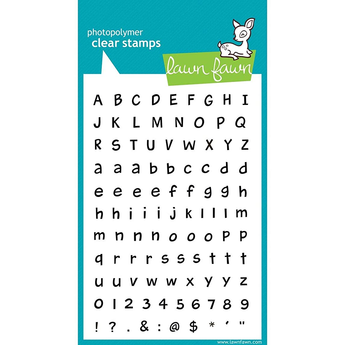 Lawn Fawn Clear Stamps - Harold's ABCs (LF317)