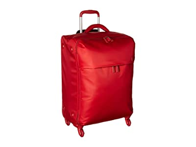 Lipault Paris Original Plume 25 Spinner (Cherry Red) Luggage