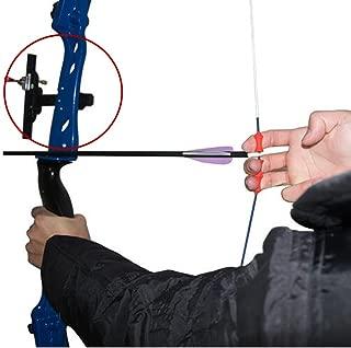 ZSHJG Archery 1 Pin Bow Sight Single Pin Bow Sighting Aiming 1 Pin Metal Needle Aim Shooting Sight