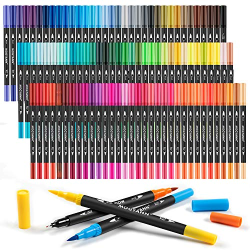Mogyann Coloring Markers for Adult 100 Colors Dual...