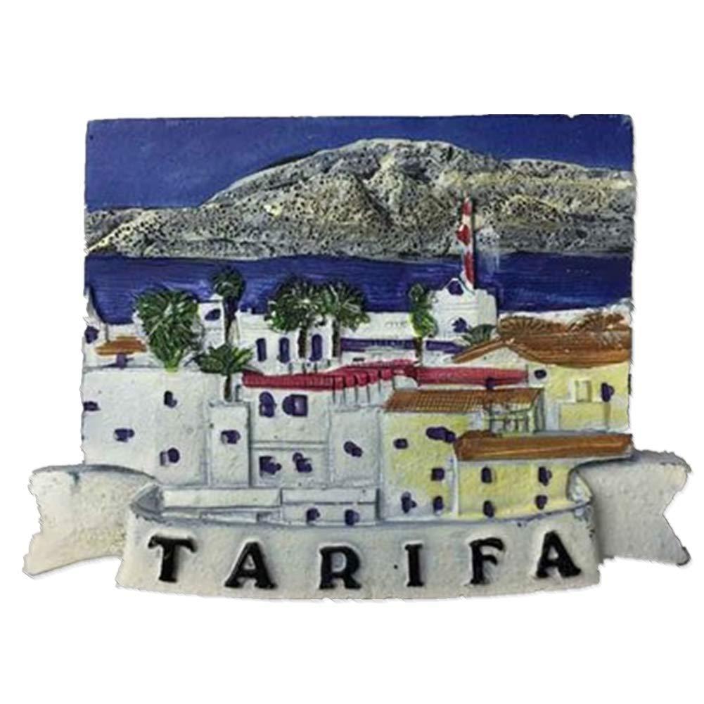 Tarifa España Imanes de Nevera City Travel Souvenir para artesanías de Resina 3D Regalos Decoración de Cocina Accesorios Colección magnética: Amazon.es: Hogar