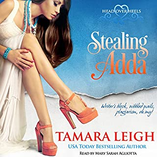 Stealing Adda audiobook cover art