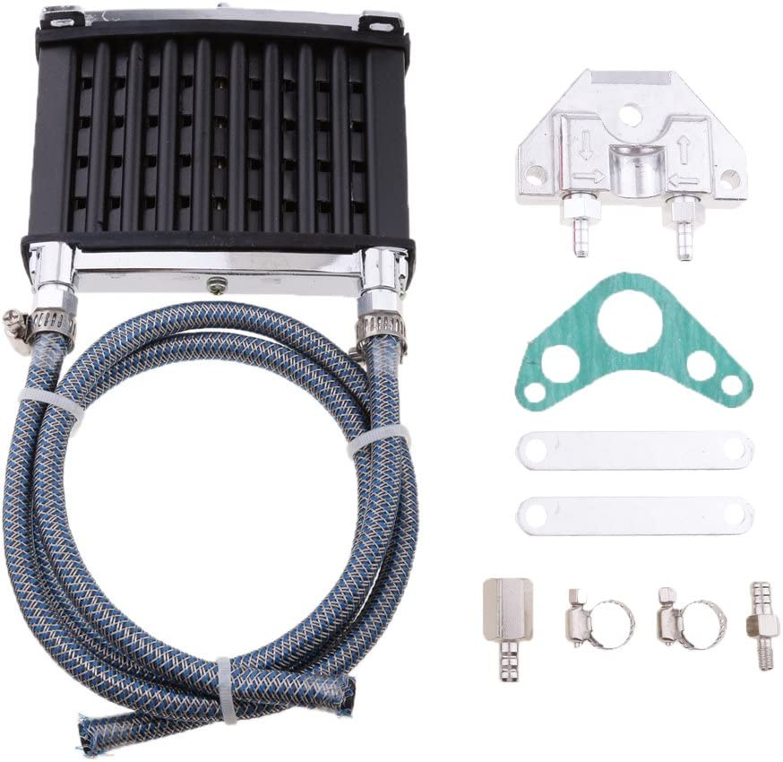 Kesoto CNC Ranking TOP2 Engine Oil Lowest price challenge Cooler Kit Radiator 70 90 for 110cc PRO 50
