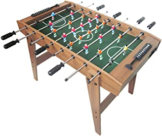 TOOYU Foosball Table Soccer Game Table Competition Sized Football Arcade For Indoor Game Room Sport