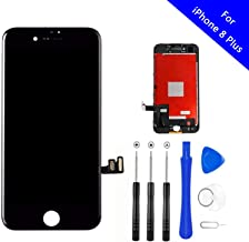 Master Screen for iPhone 8 Plus Screen Replacement Kit Black 5.5