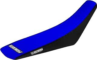 Enjoy MFG 2000 - 2007 Yamaha TTR 125 Black Sides / Blue Top Full Gripper Seat Cover