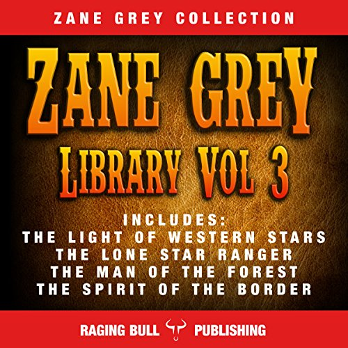 Zane Grey Library, Volume 3 cover art