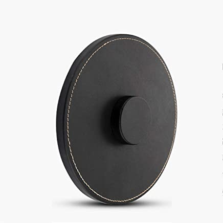 ??Leather Wireless Speaker Anti-skid Base Durable Protection Pad Black For Apple Homepod Stereo