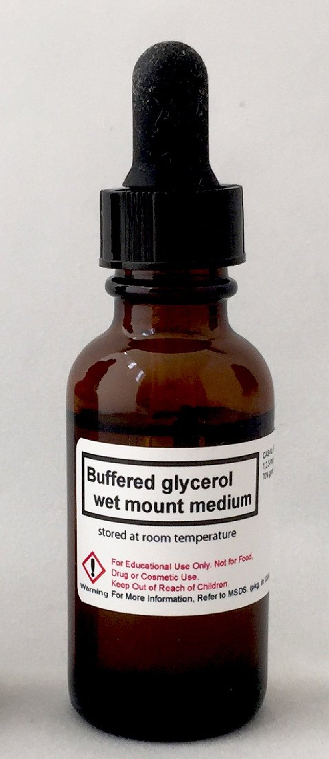 Glycerol Max 55% OFF Wet Max 74% OFF Mounting Medium 30 ML 1 Glass in Bottl Dropper oz