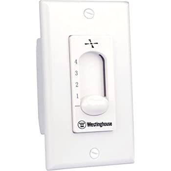 Fan wall controller with 3 Speed Capacitor /& Light Switch