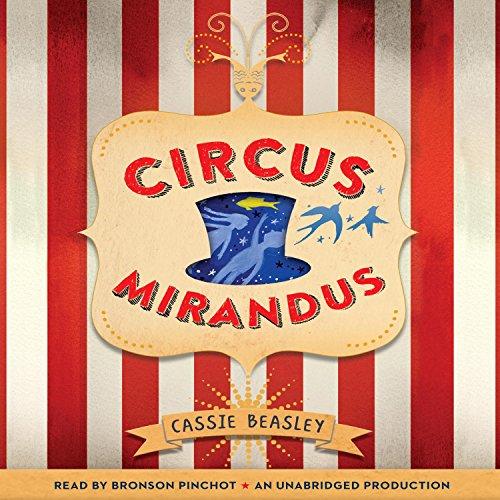 Circus Mirandus audiobook cover art