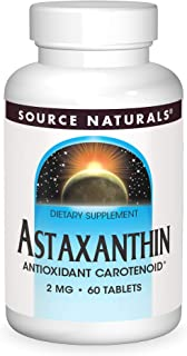 Source Naturals Astaxanthin 2mg High Potency - 60 Tablets