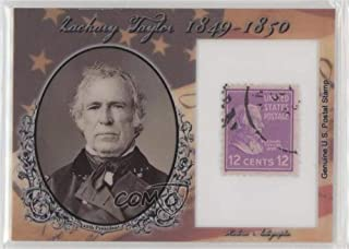 Zachary Taylor #32/90 (Trading Card) 2018 Historic Autographs POTUS - Stamps #ST-ZT