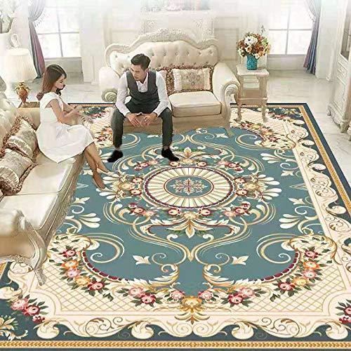 DJUX Alfombra de Dormitorio, alfombras Circulares Muy Suaves, alfombras para Sala de Estar, hogar, alformbras acogedoras y peludas, alfombras de Suelo,140x200cm