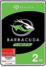 Seagate Barracuda, interne Festplatte 2 TB HDD, 2,5 Zoll, 5400 U/Min, 128 MB Cache, SATA..